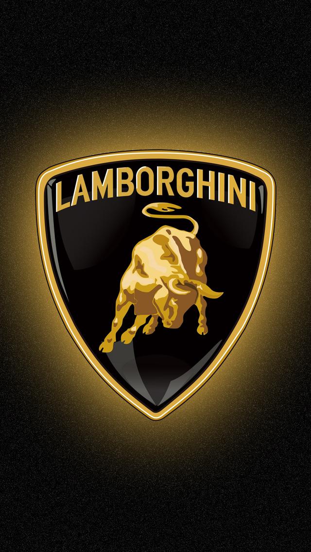 45] Lamborghini Logo Wallpaper HD on WallpaperSafari 640x1136