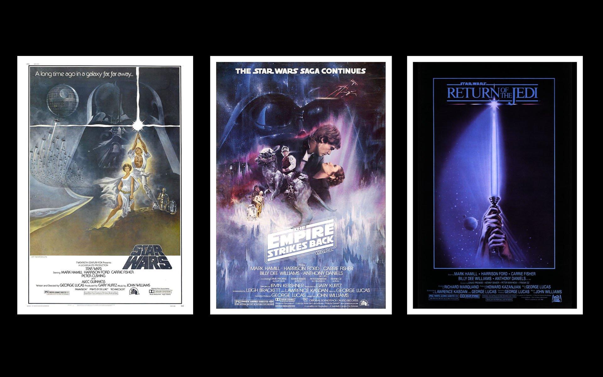 star wars movie posters HD Wallpaper   Movies TV 701931 1920x1200
