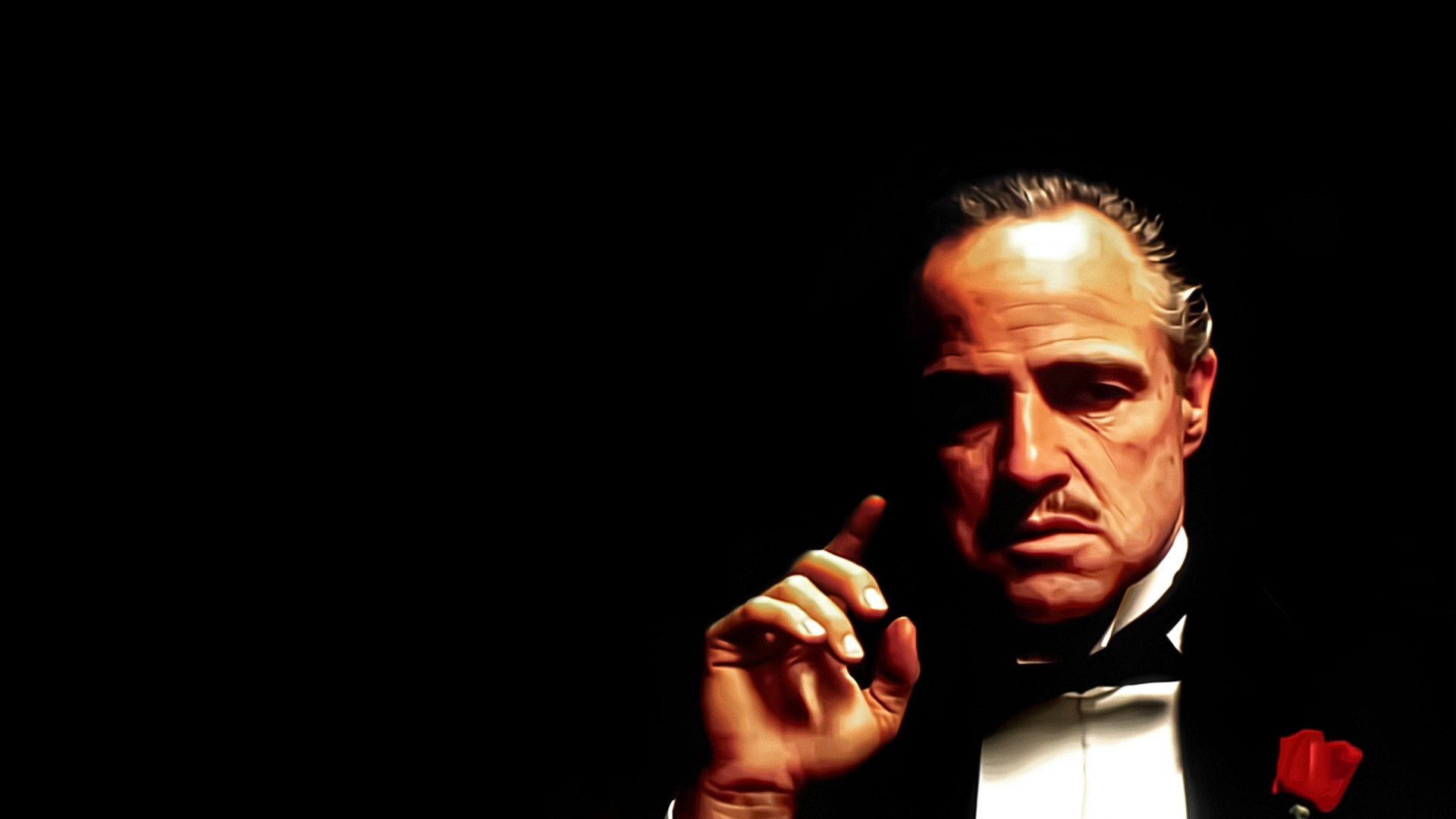 Don Vito Corleone Godfather pictures and wallpaper for desktop 1920x1080