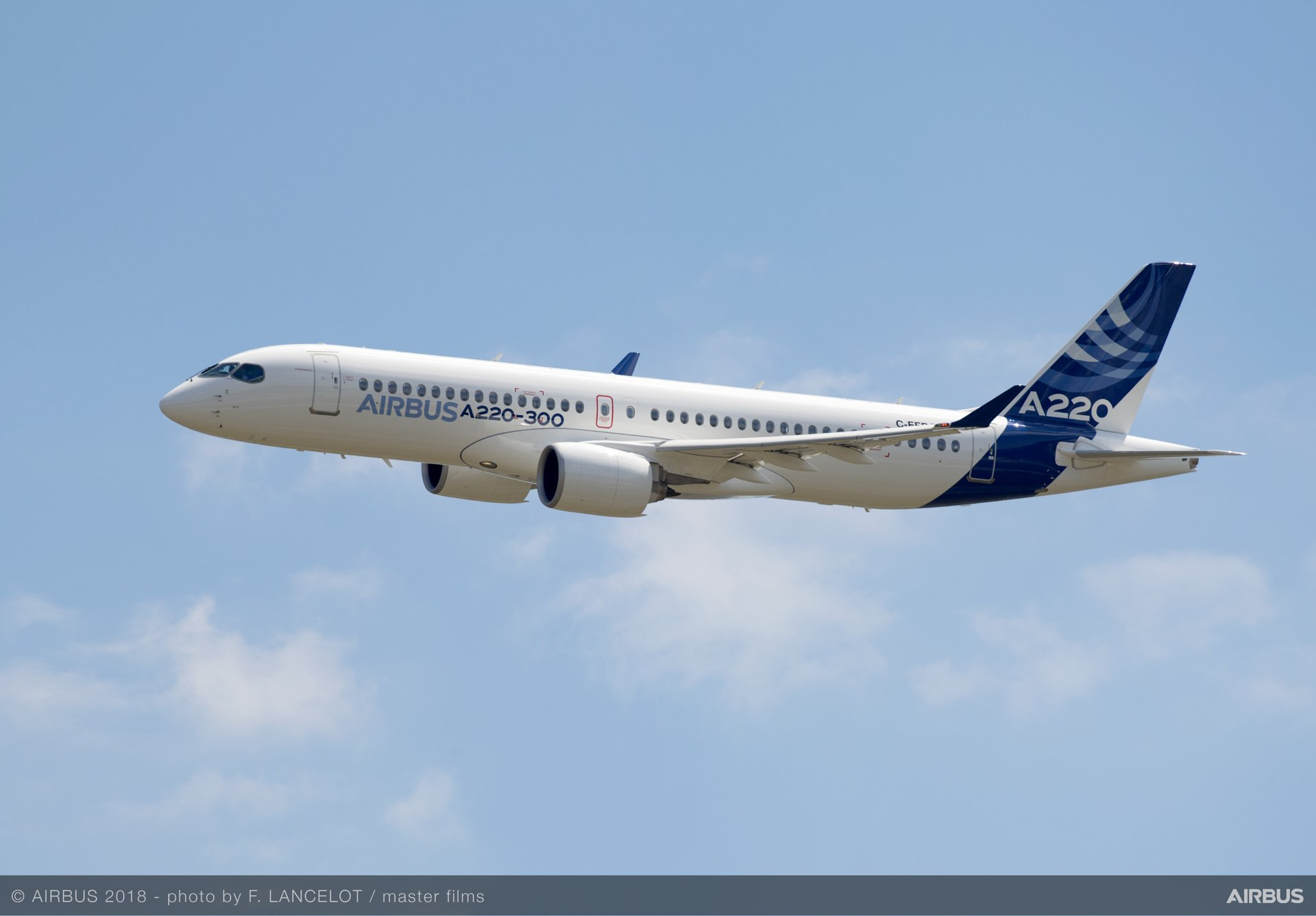 Airbus introduces the A220 100 and A220 300   Commercial Aircraft 1920x1337