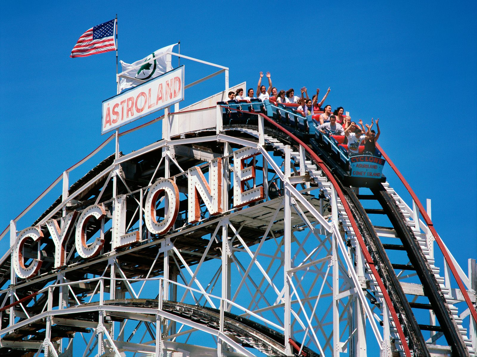 New York photo The Cyclone Coney Island Brooklyn New York wallpaper 1600x1200