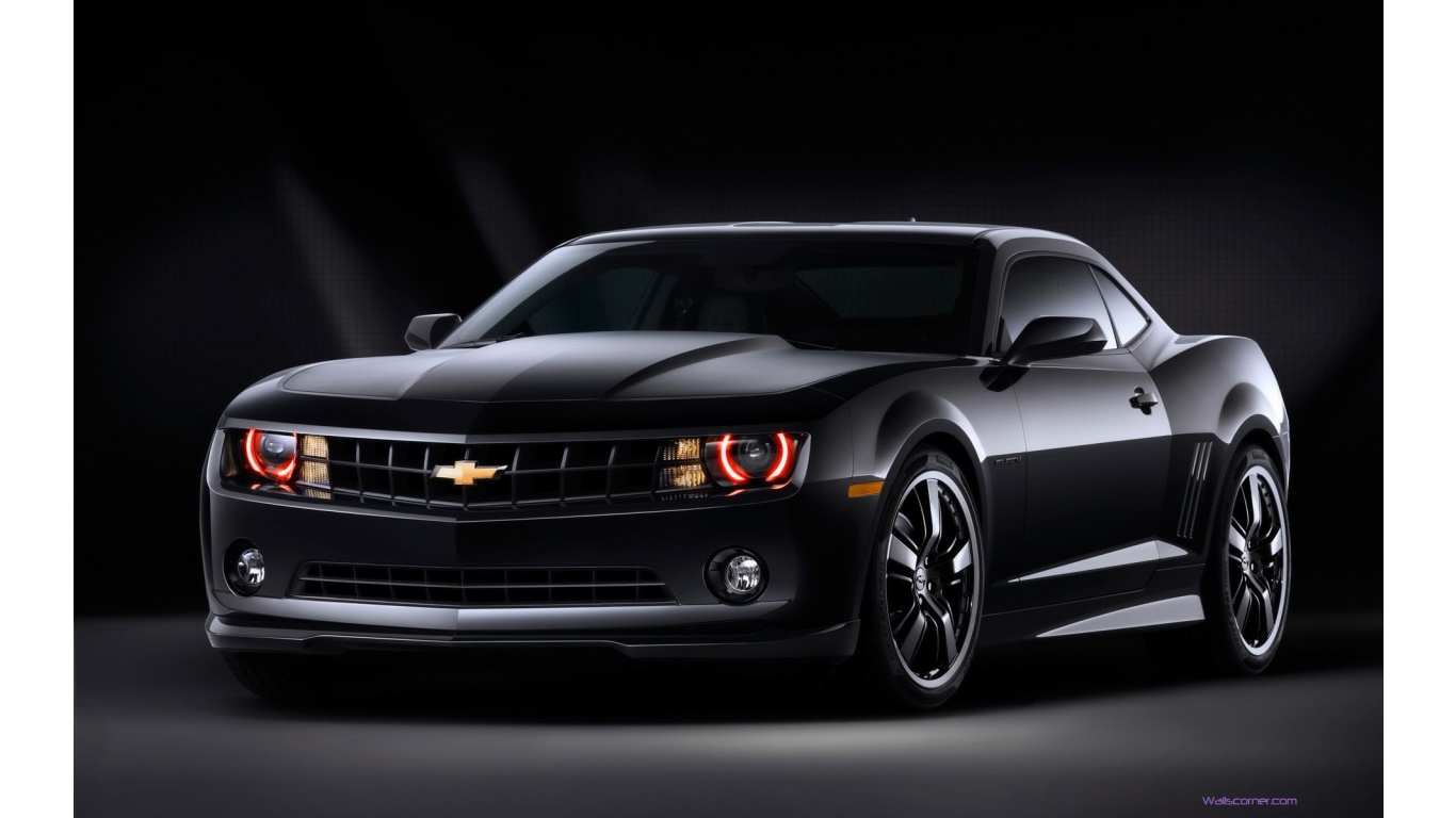 Black Chevy Camaro Wallpaper 6365 Hd Wallpapers in Cars   Imagescicom 1366x768