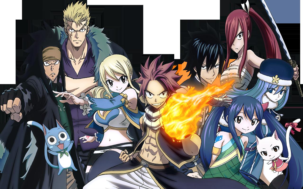 do anime Fairy Tail 2014 adicionadas tambm as de Fairy tail Zero 1280x800