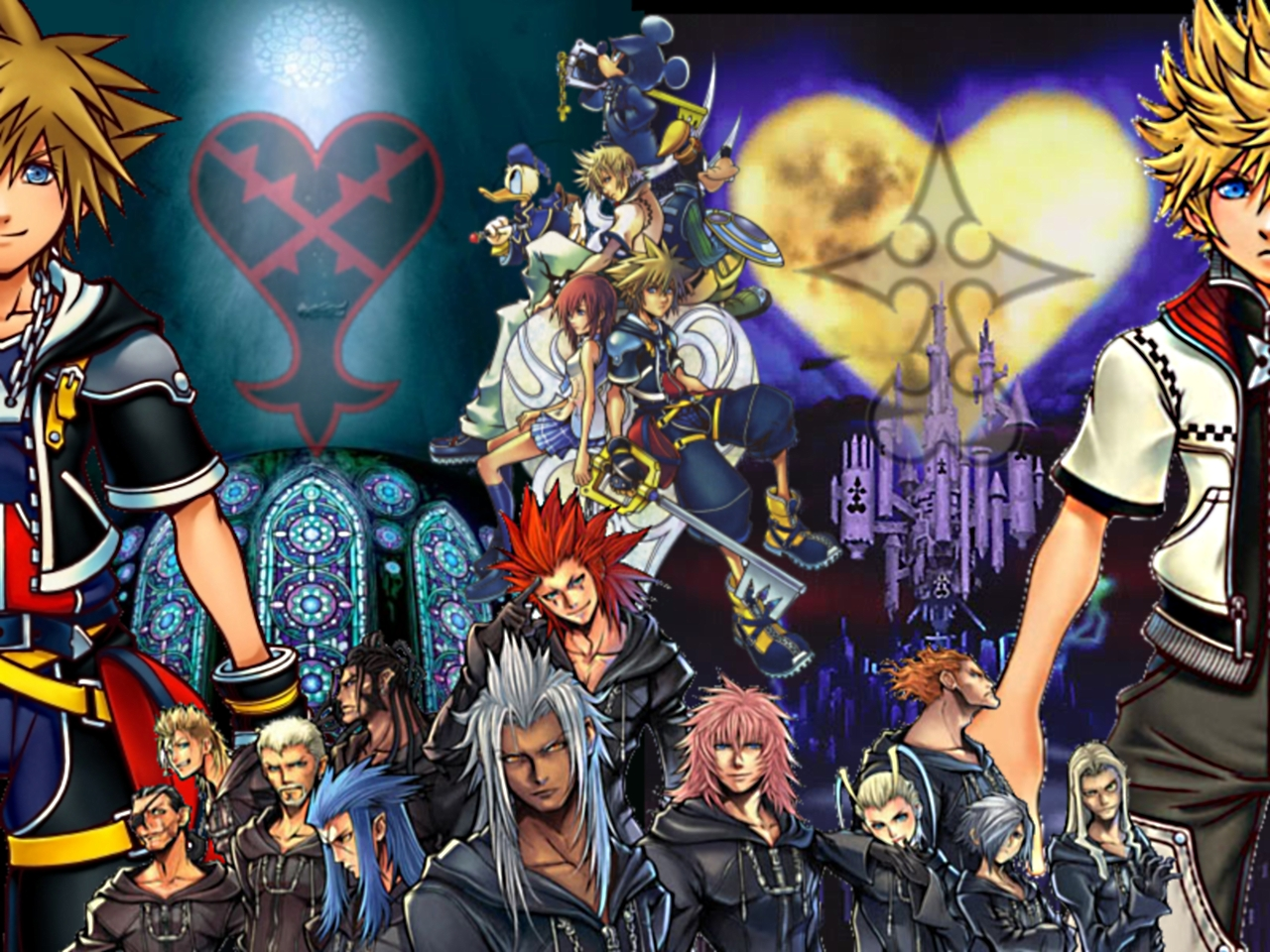 Kingdom Hearts Wallpaper by Wightwizard8   Desktop Wallpaper 1280x960