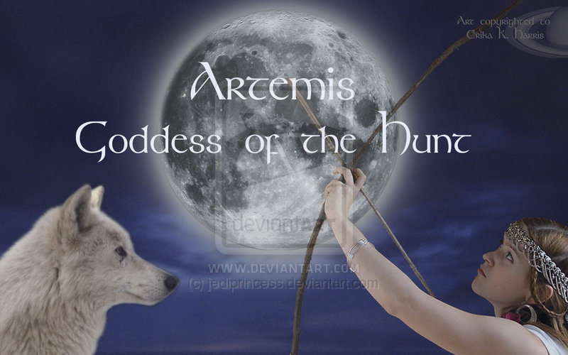 The Goddess Artemis Wallpaper by jediprincess 800x500