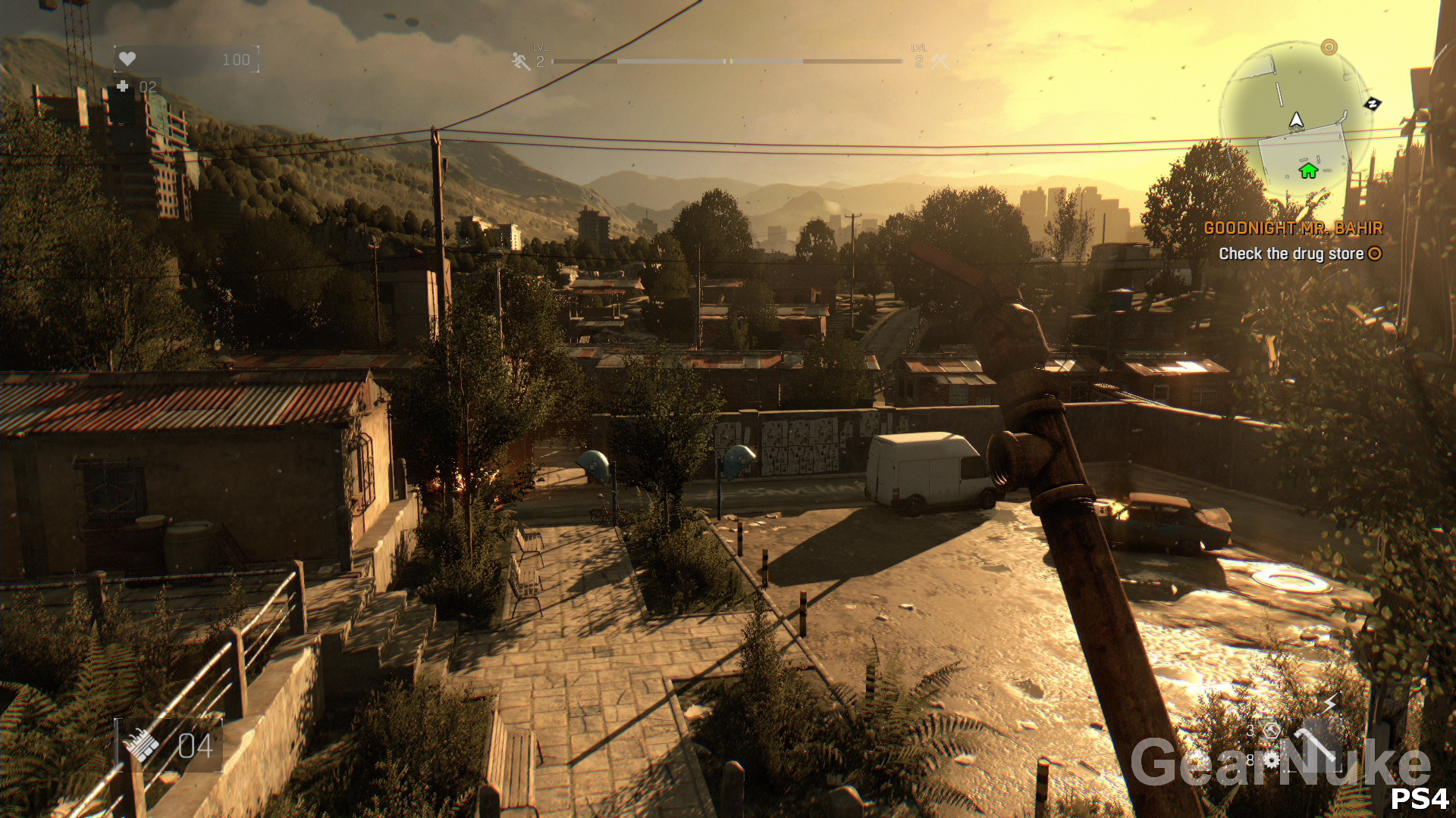 Dying Light PC HighLow vs PS4 Screenshot Comparison PS4 Holds 1920x1080