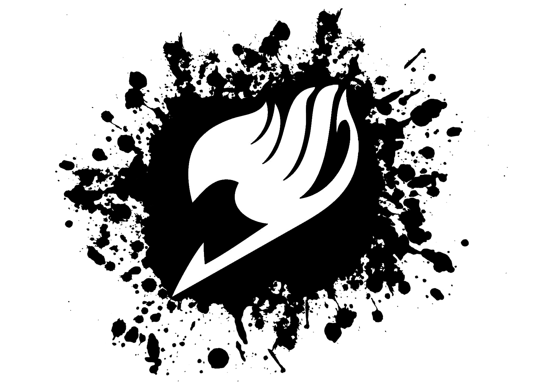 Fairy Tail Ink Logo by offonshot 1754x1240