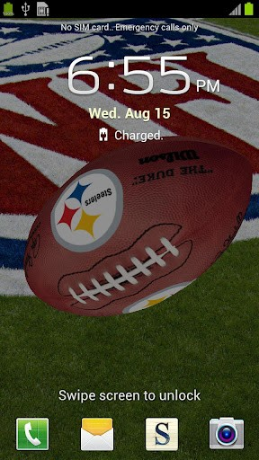 View bigger   Pit Steelers 3D Live Wallpaper for Android screenshot 288x512
