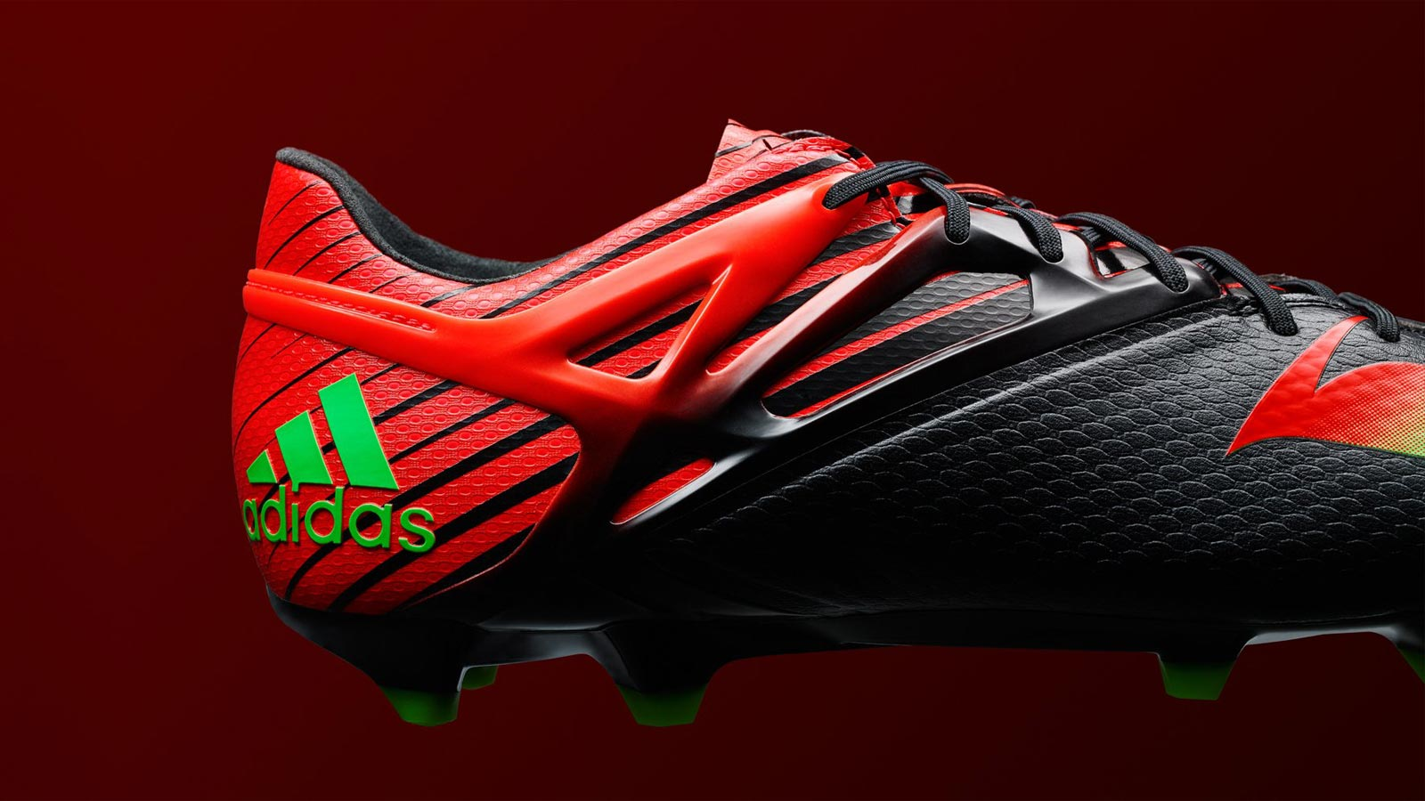 0299810c501ca The new black red Adidas Messi 2015 2016 Football Boot 1600x900