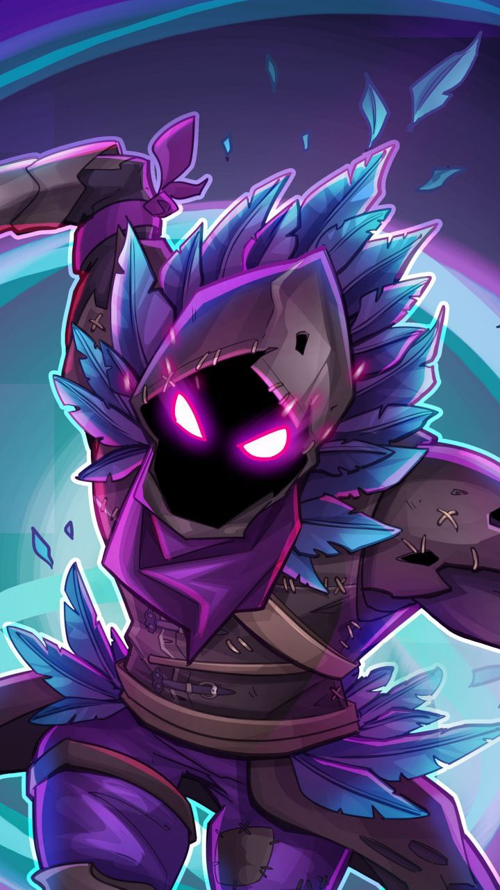 Fortnite Wallpaper Illustration Description Raven Fortnite 720x1280
