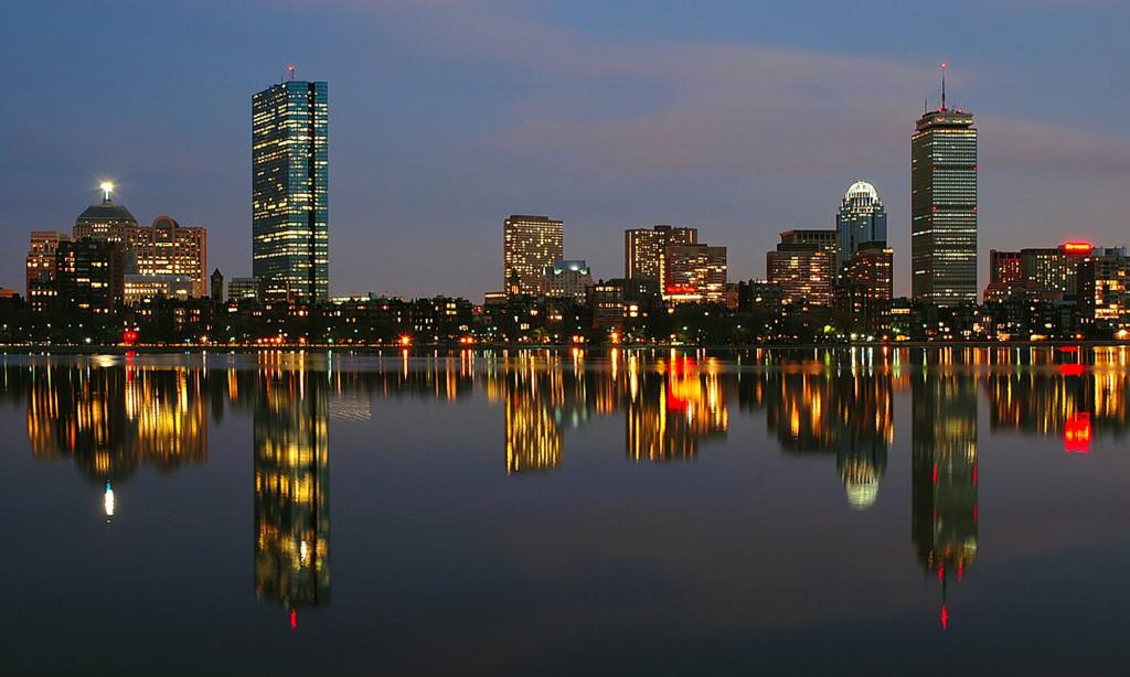 Boston Cityscape HD Wallpaper Travel Wallpapers 1024x614