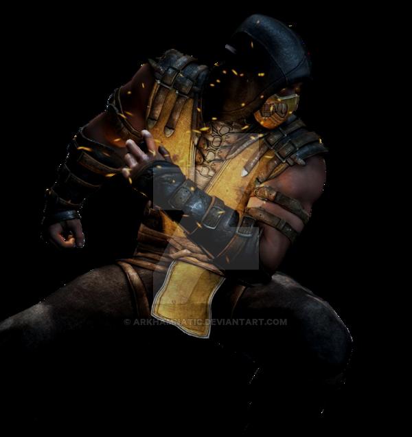 MKX Scorpion render 2 by ArkhamNatic 600x636