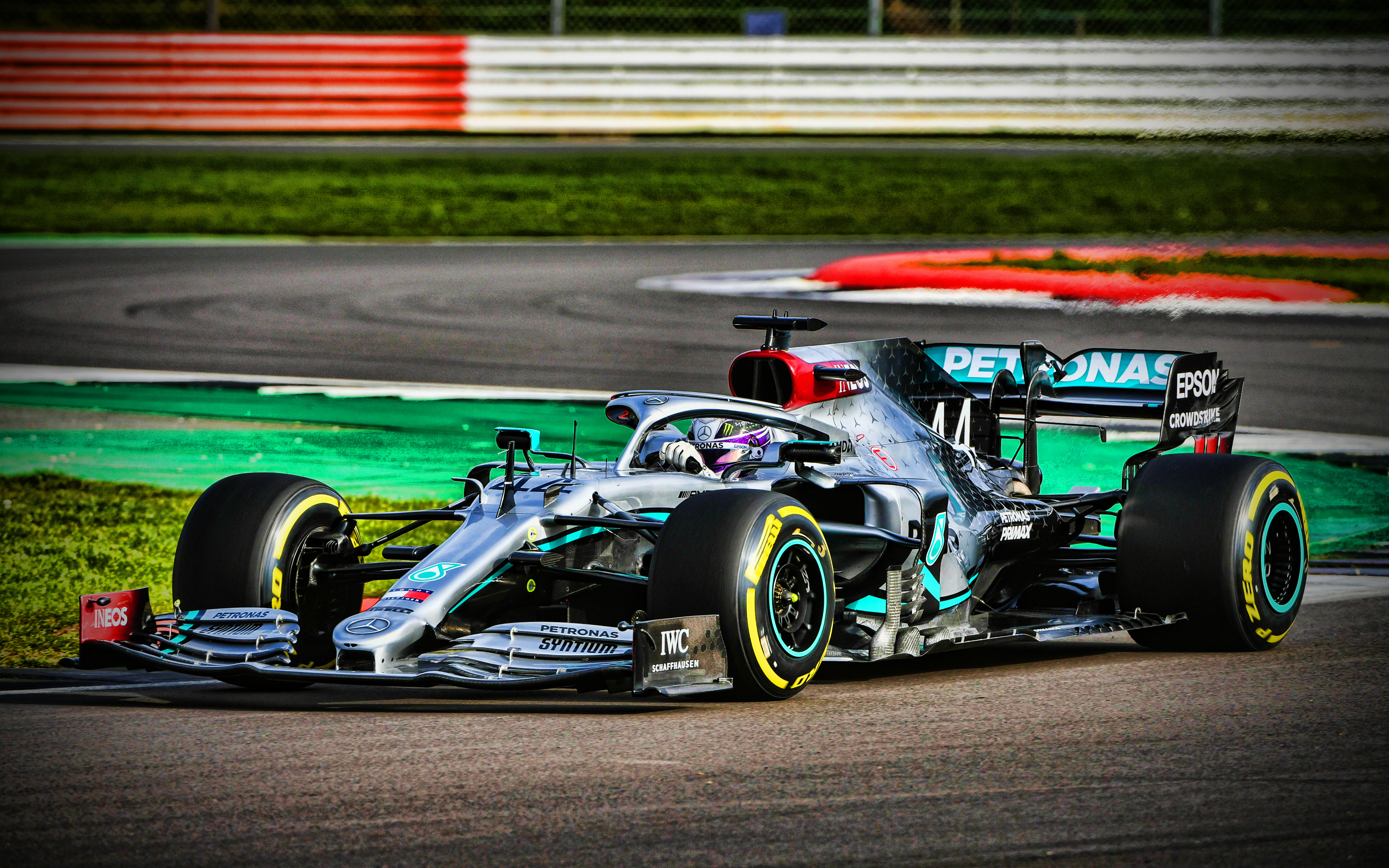 Download wallpapers Mercedes AMG F1 W11 EQ Performance 4k Lewis 3840x2400