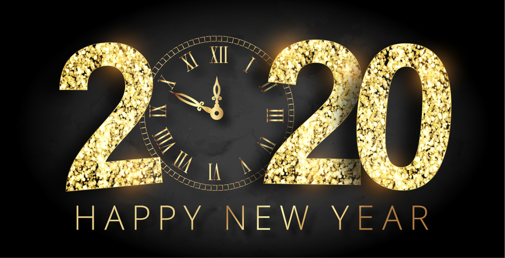 Happy New Year 2020 Best SmS Greetings Quotes Wishes Wallpaper 1000x512