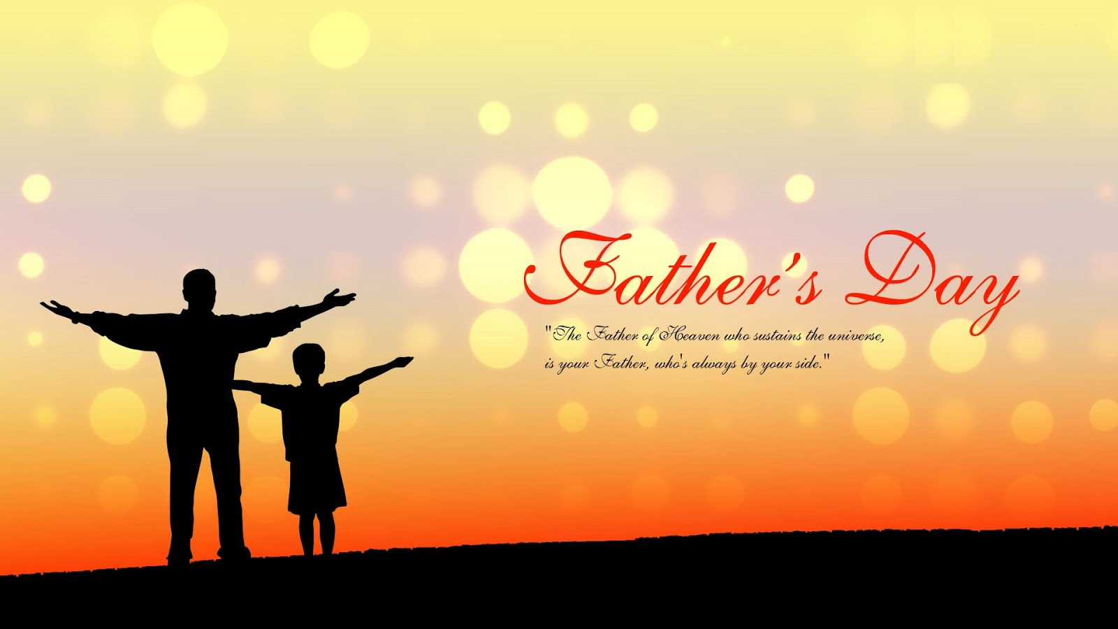 Happy fathers day quotes messages sms greetings images wallpapers 1600x900
