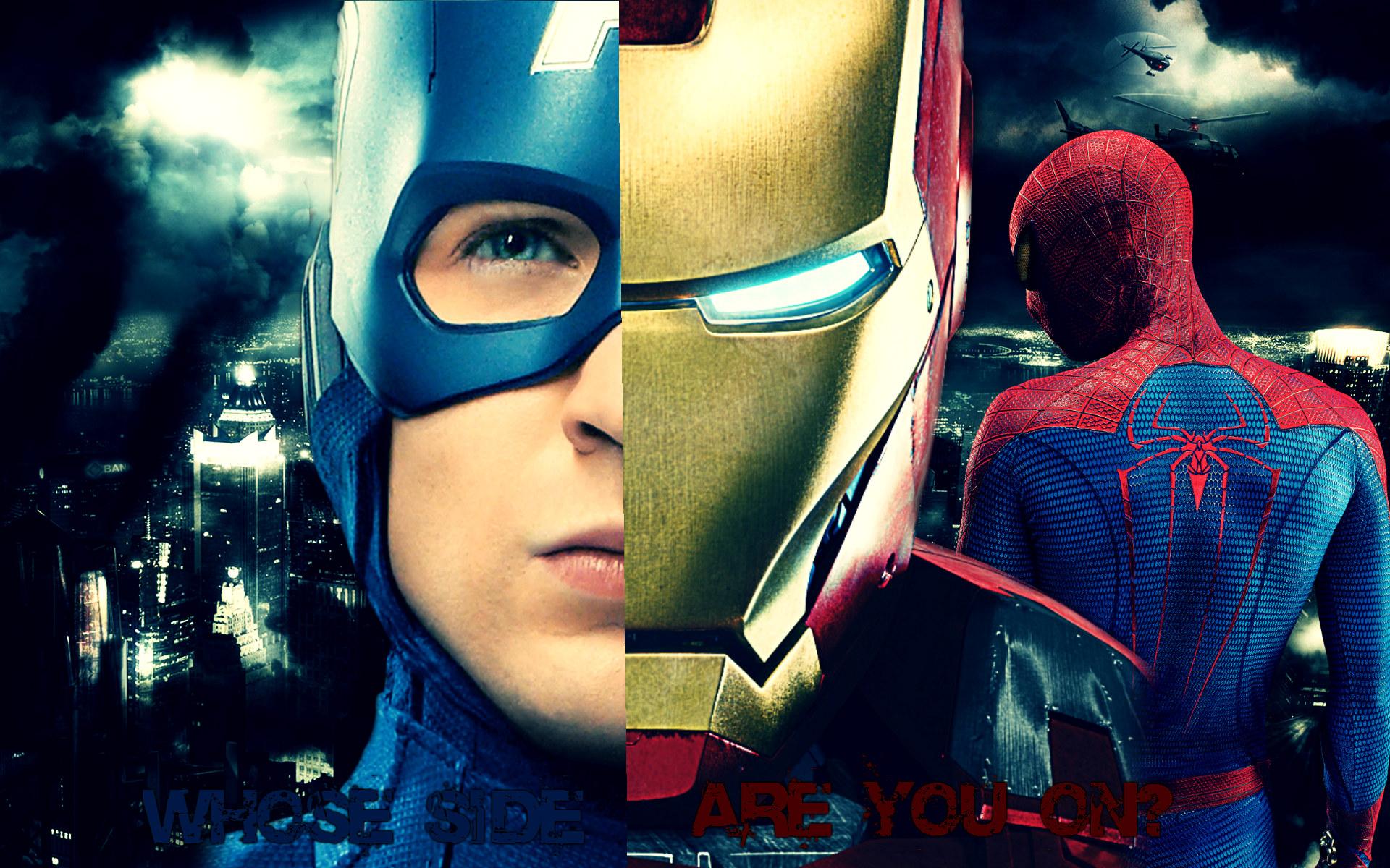 Marvel Civil War Wallpaper - HD Wallpapers
