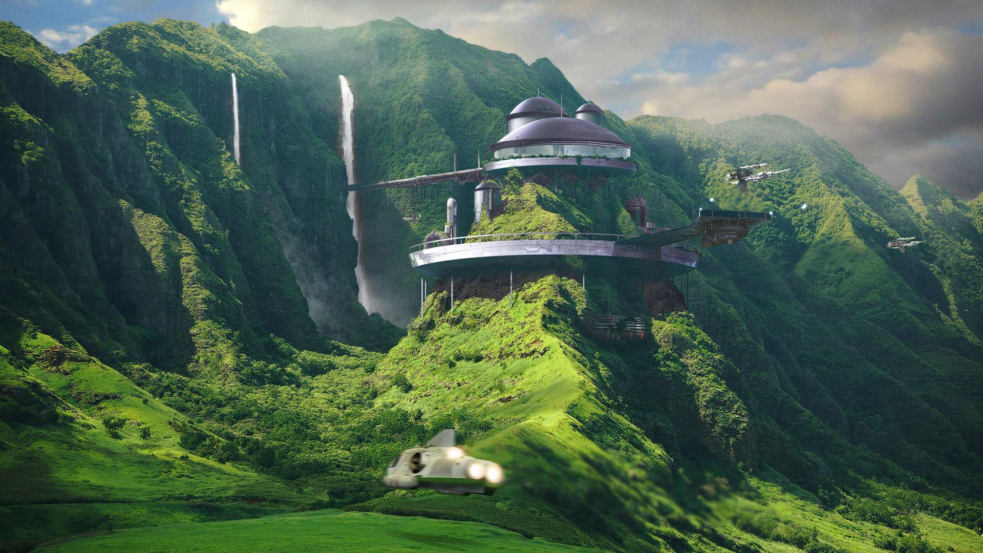 ... Sci Fi Landscape Wallpaper HD 10 High Resolution Wallpaper Full Size
