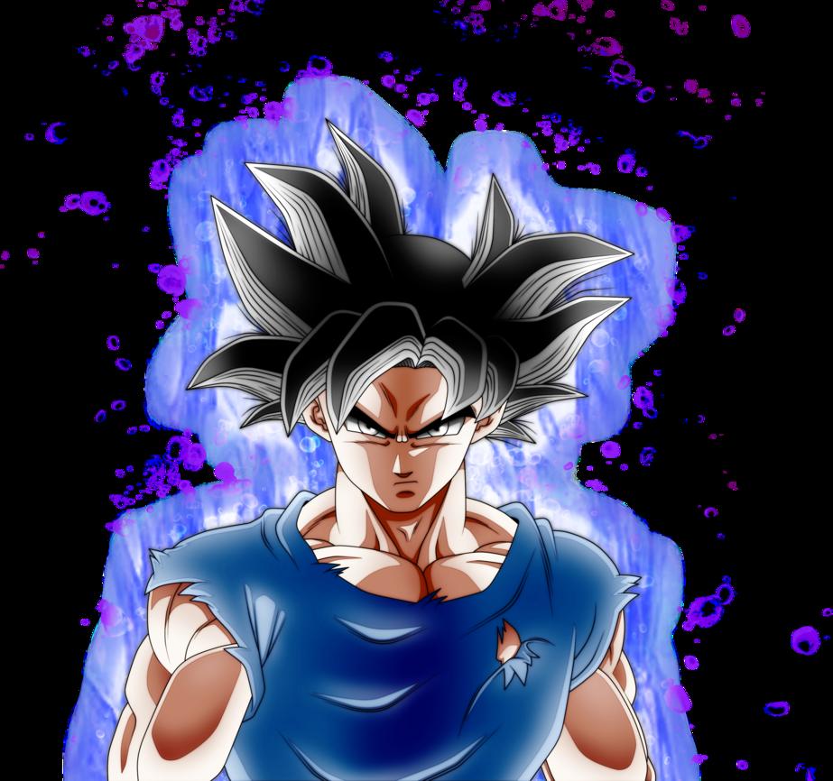 Goku Ultra Instinct Aura by AngelArts2 923x866