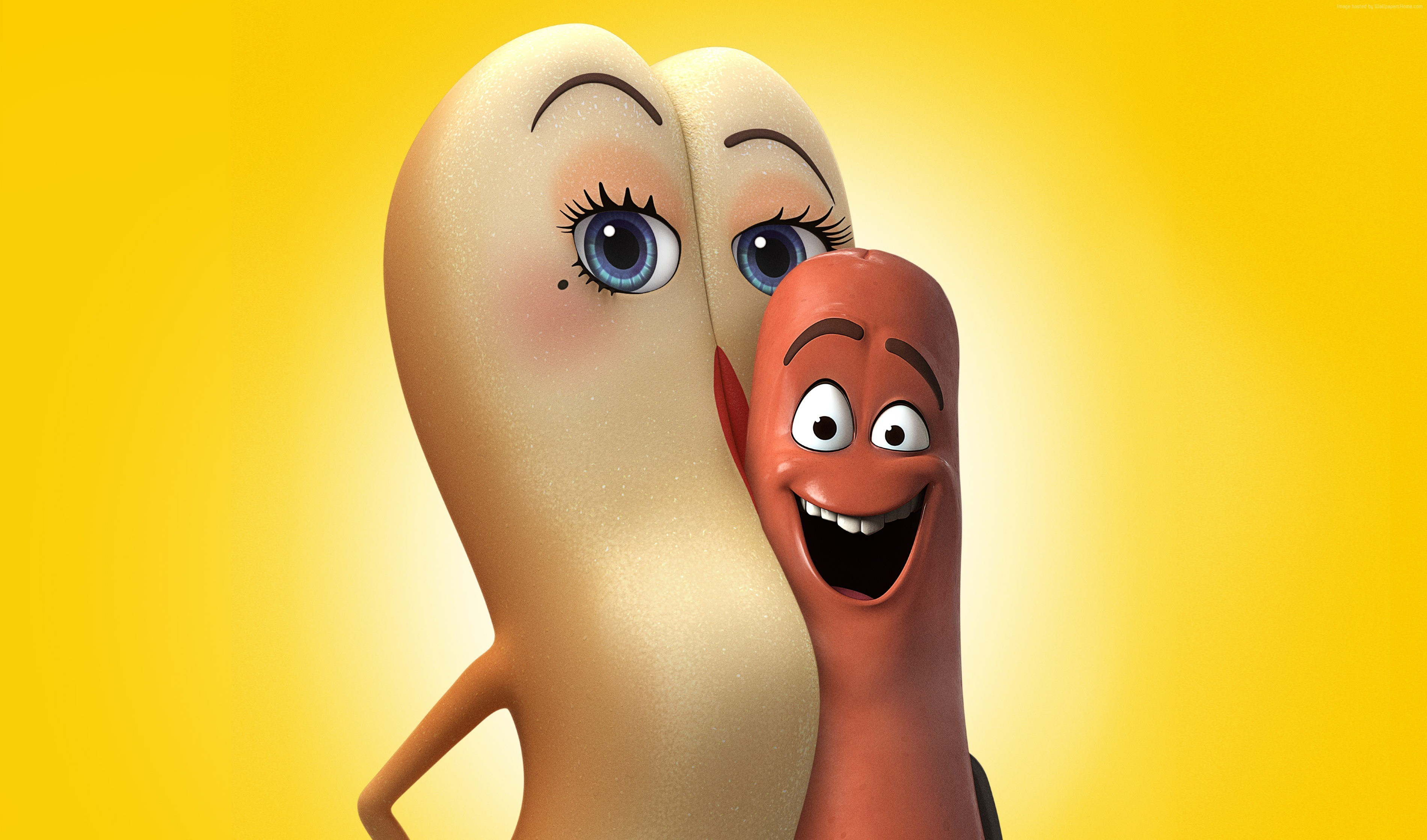 best animation movies of 2016 smile Sausage Party 3800x2238