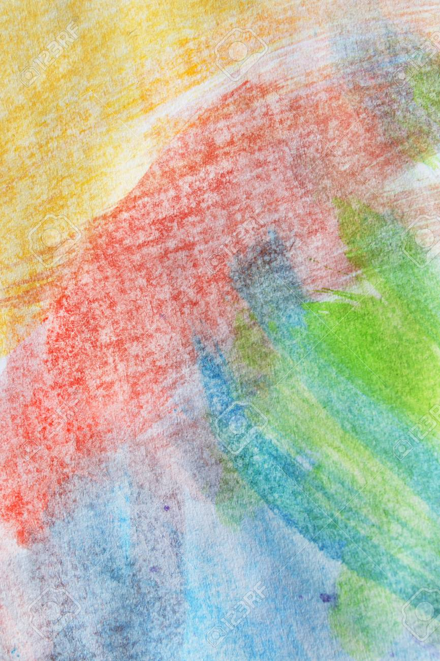 Abstract Watercolor Colorful Paintings As A Background Stock Photo 866x1300