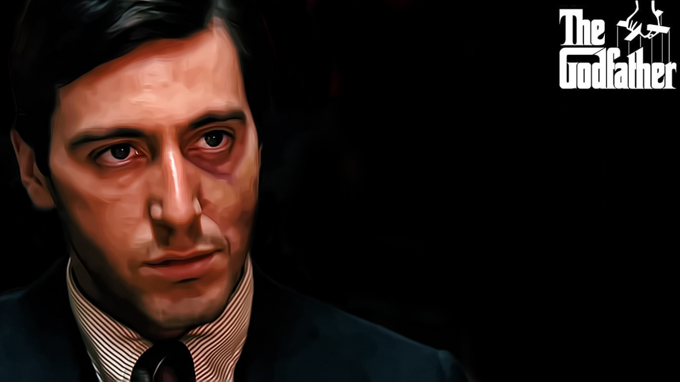 Free Download The Godfather Wallpaper 1366x768 The Godfather