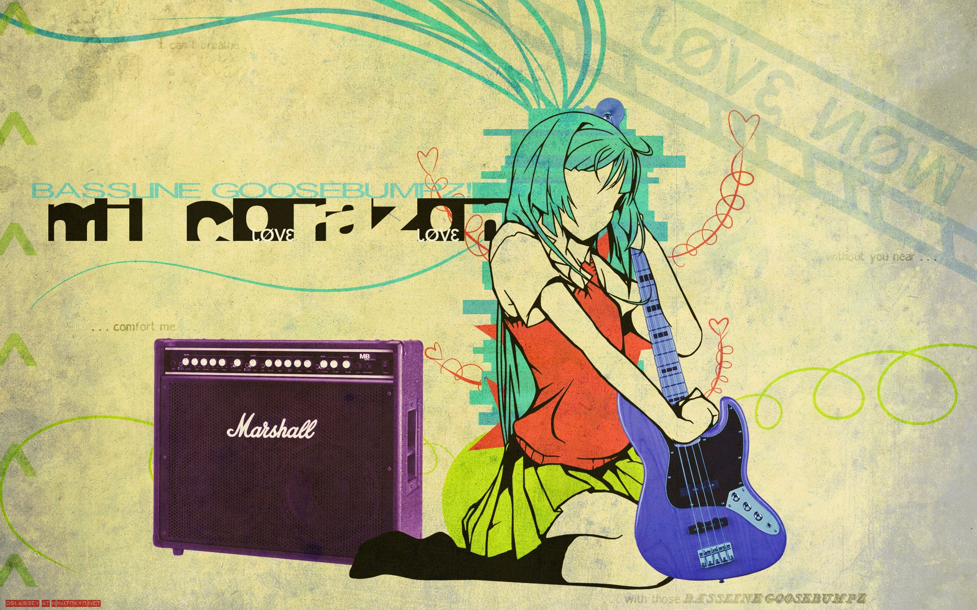 Anime Music Wallpaper 1920x1200