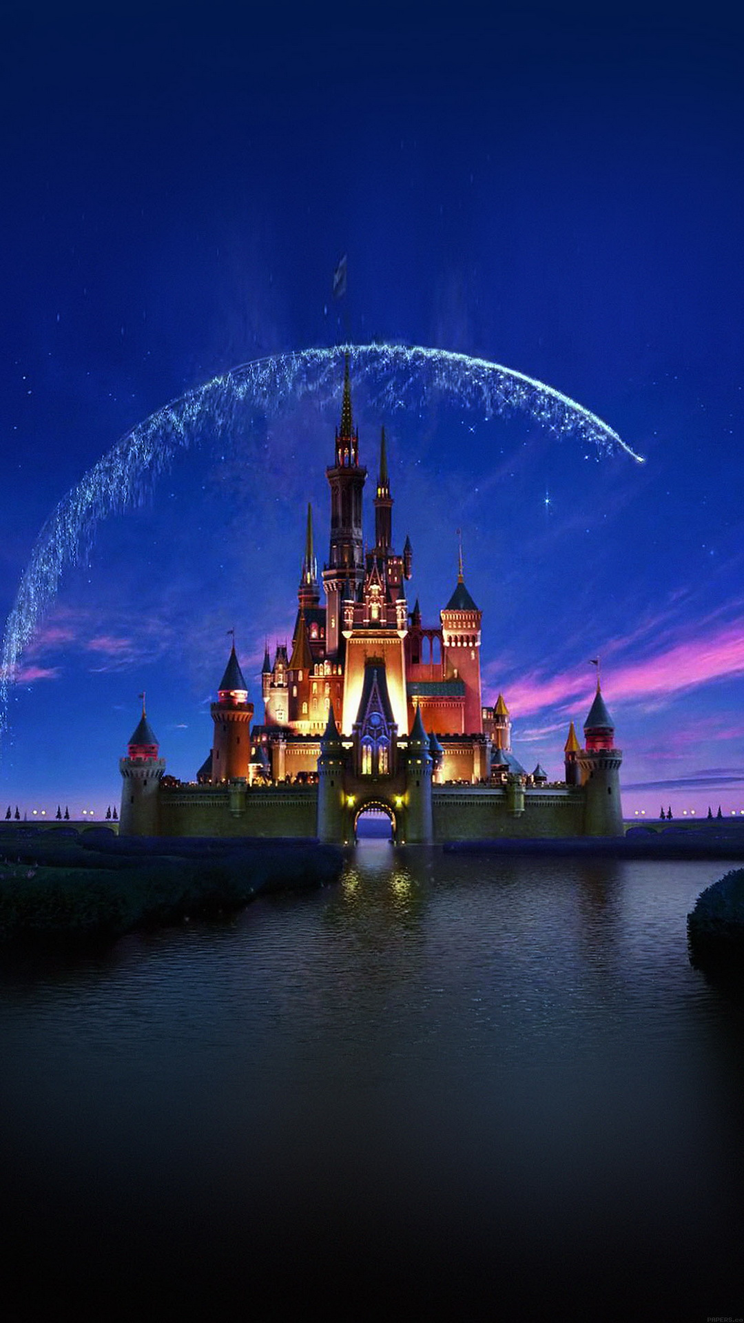 Disney Castle   Top 10 HTC One M9 wallpapers download 1080x1920