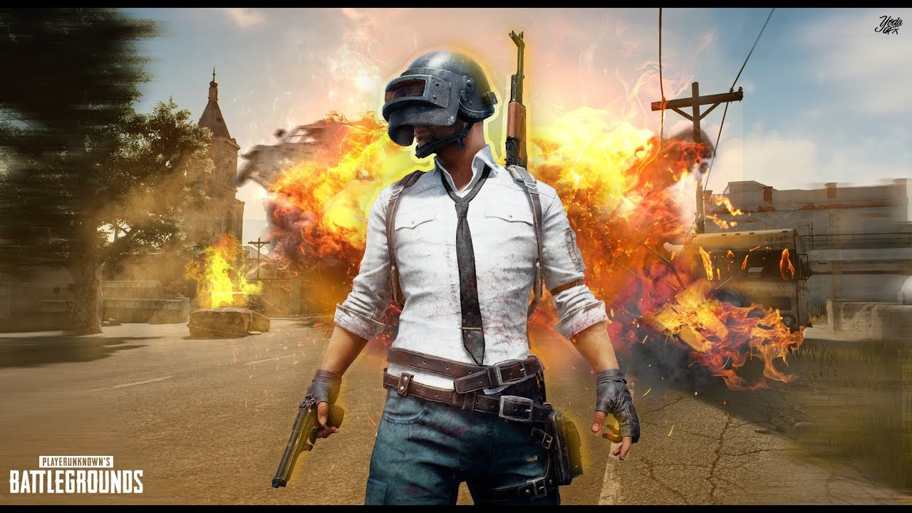 PUBG Wallpaper Speed Art 1280x720