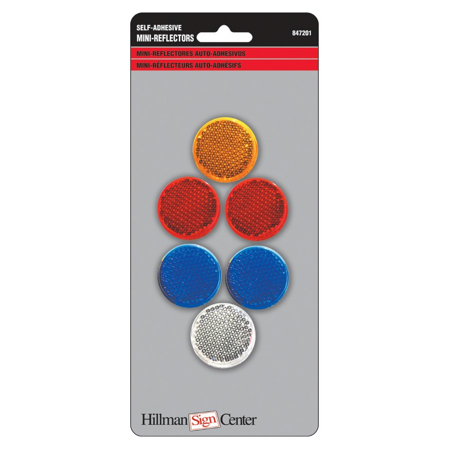 Hillman 6 Piece Self Adhesive Mini Reflectors Set Lowes Canada 900x900