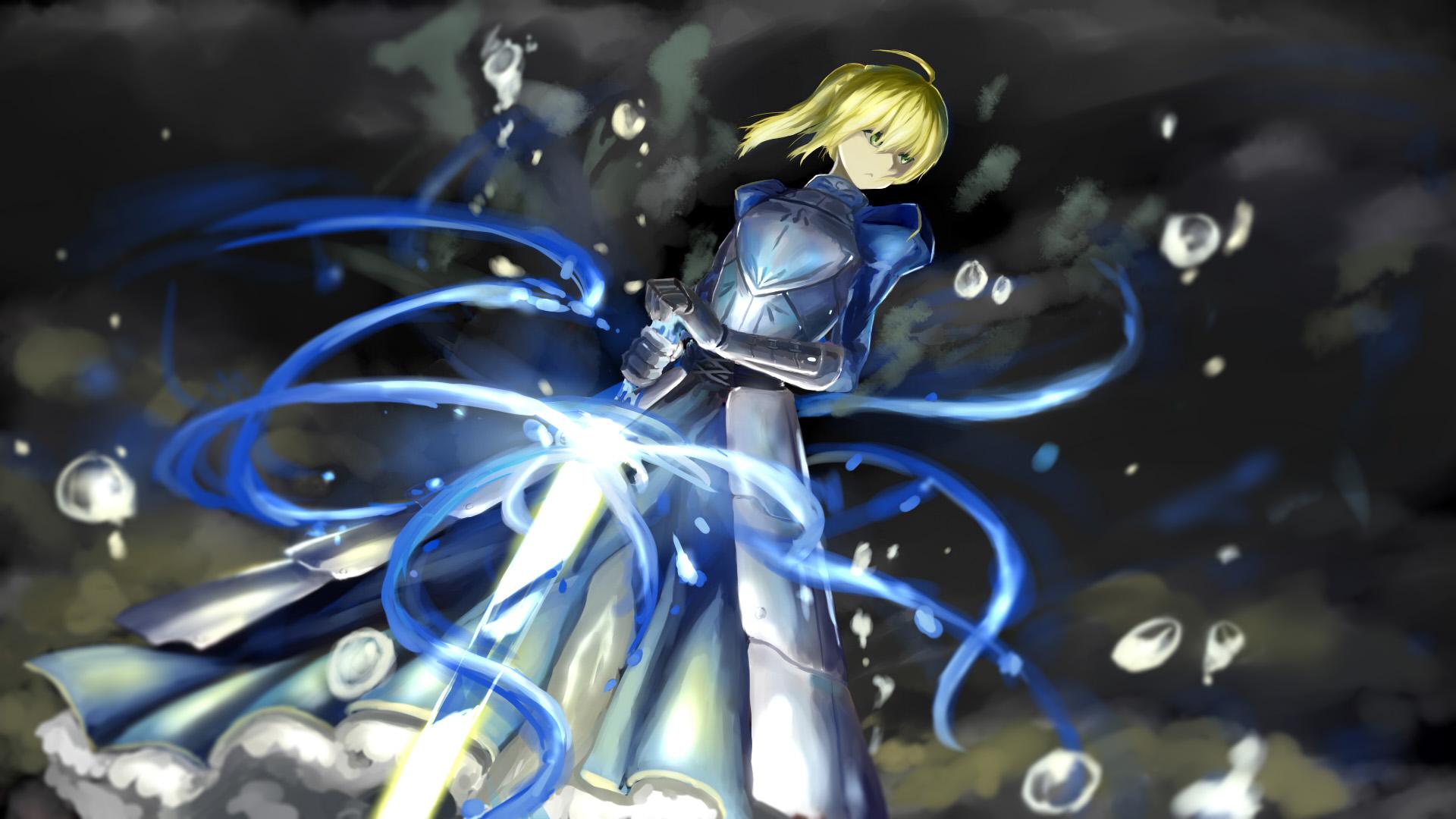 fatestay night saber konachancom   Konachancom Anime Wallpapers 1920x1080