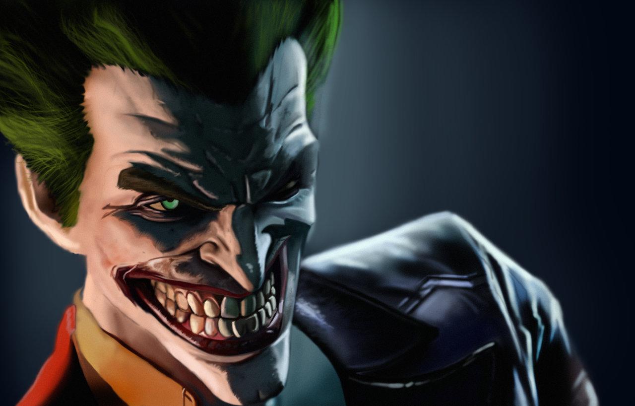 Speedpainting Joker from Arkham Origins by david4815162342 on 1280x818