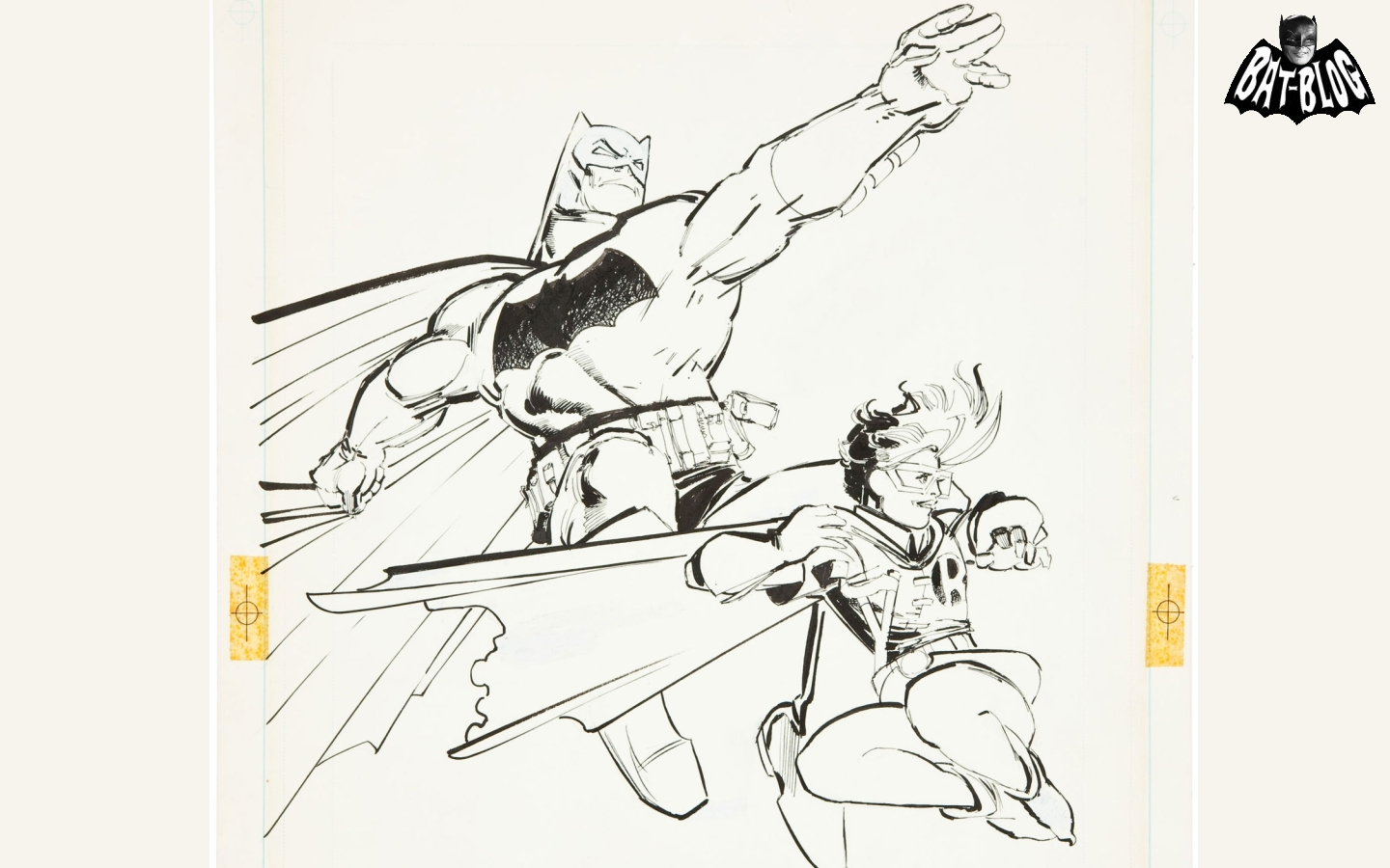 and COLLECTIBLES BATMAN AND ROBIN WALLPAPERS   Frank Miller Artwork 1440x900