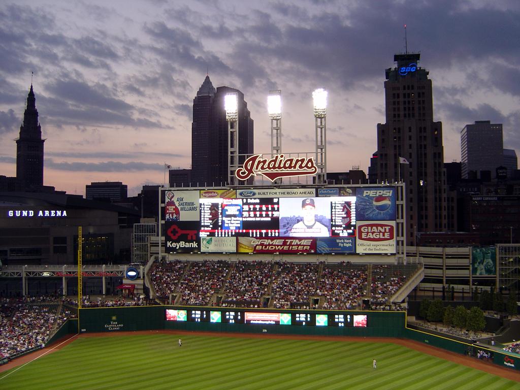 Safari In Ohio >> Cleveland Indians Progressive Field Wallpaper ...
