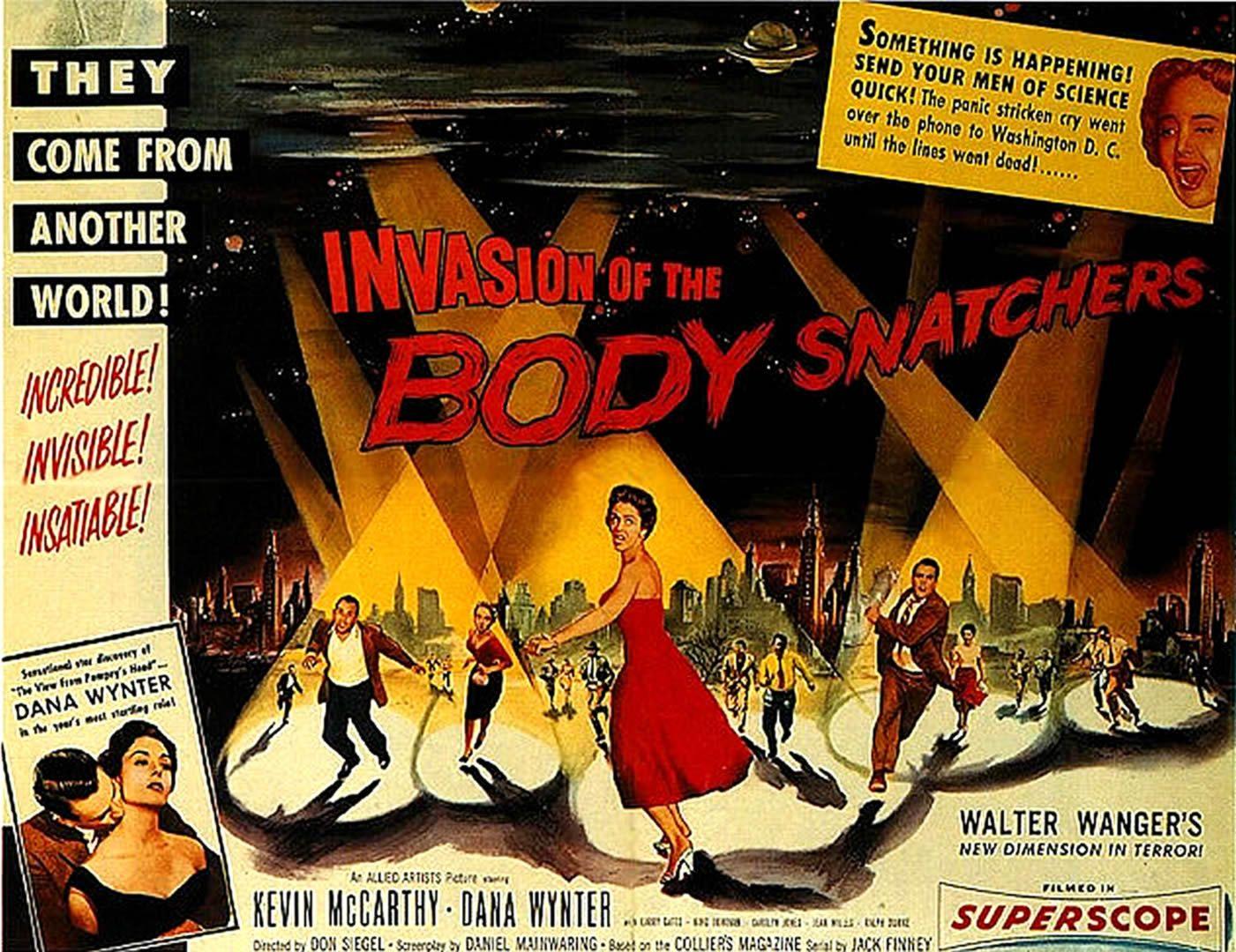 SNATCHERS Landscape   alien invasion b movie posters wallpaper 1401x1080