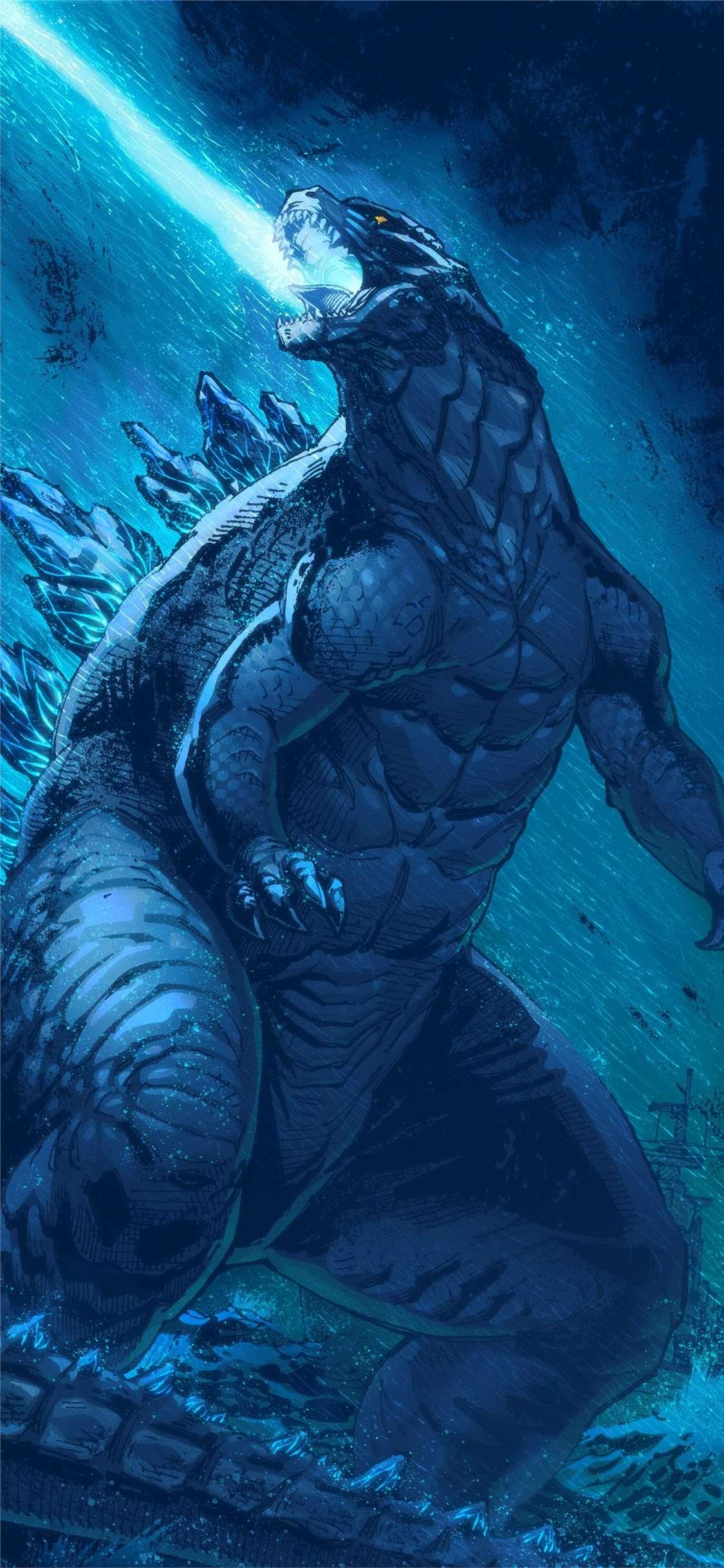Wallpaper Godzilla 1125x2436