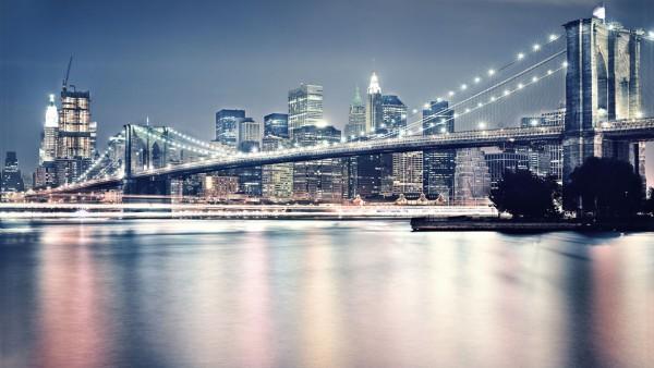 Brooklyn Bridge New York wallpaper hd 1229x768   HD Wallpaper 1080p 600x338