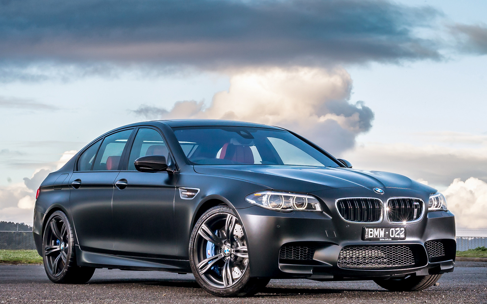BMW M5 Nighthawk 2015 AU Wallpapers and HD Images 1920x1200