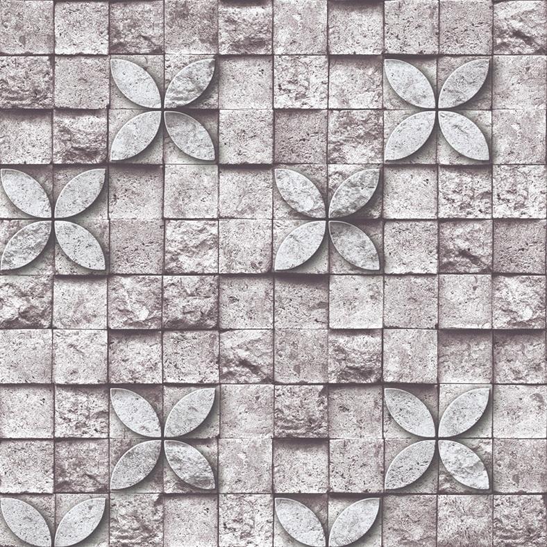 Self adhesive 3D brickblockstone wallpaper roll for kitchenbathroom 788x788