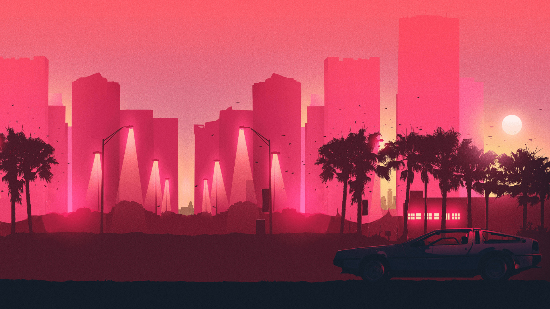 75 Synthwave Wallpapers on WallpaperPlay 1920x1080