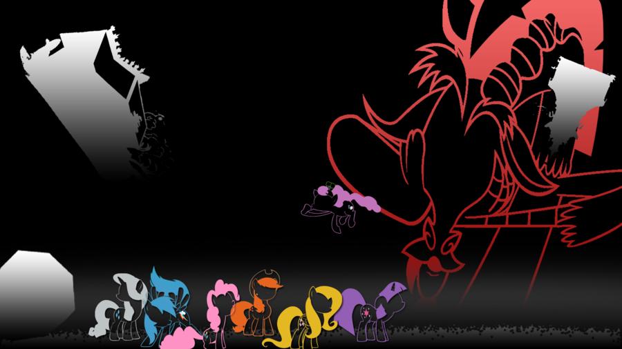 My little pony discord wallpaper