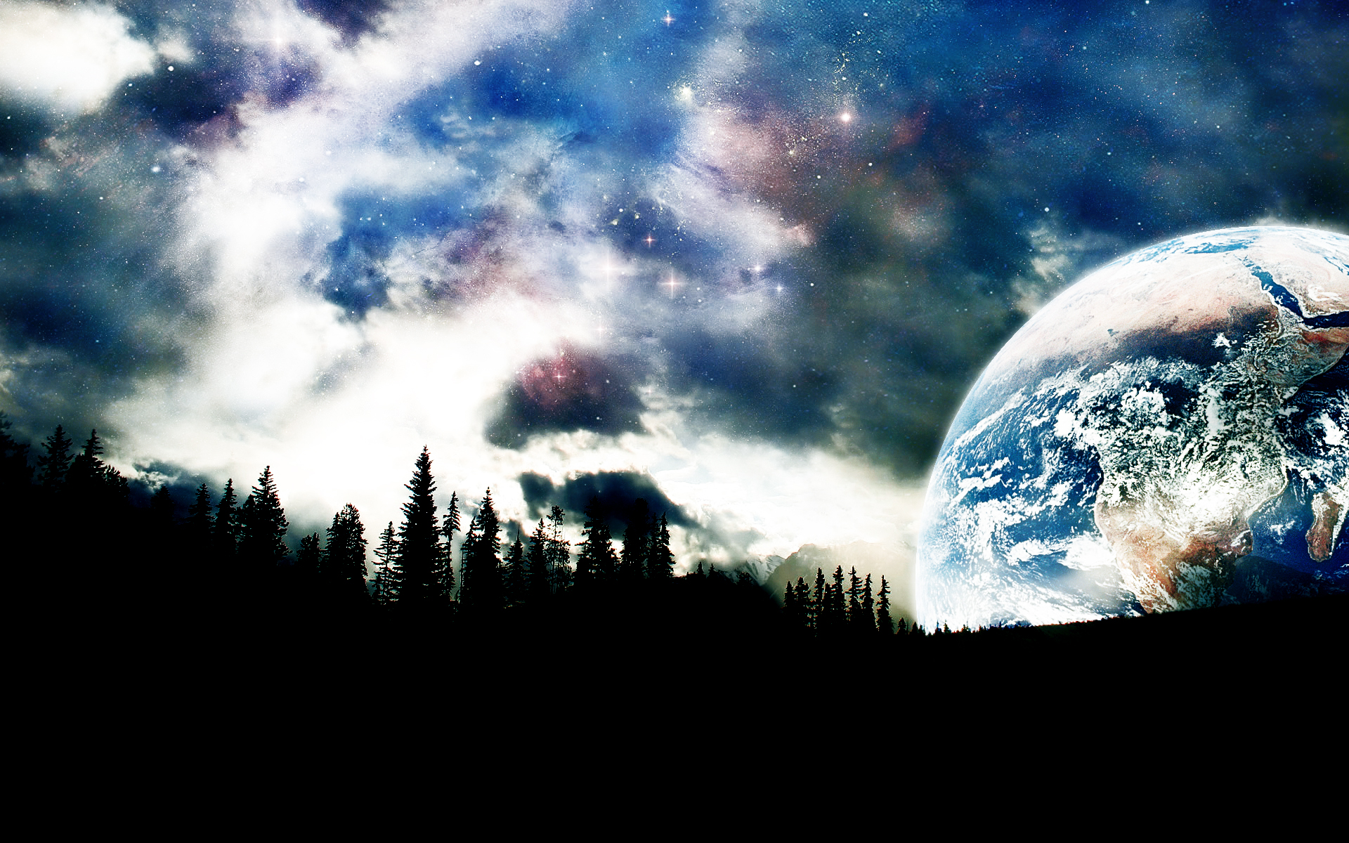 Space Fantasy Wallpaper - WallpaperSafari