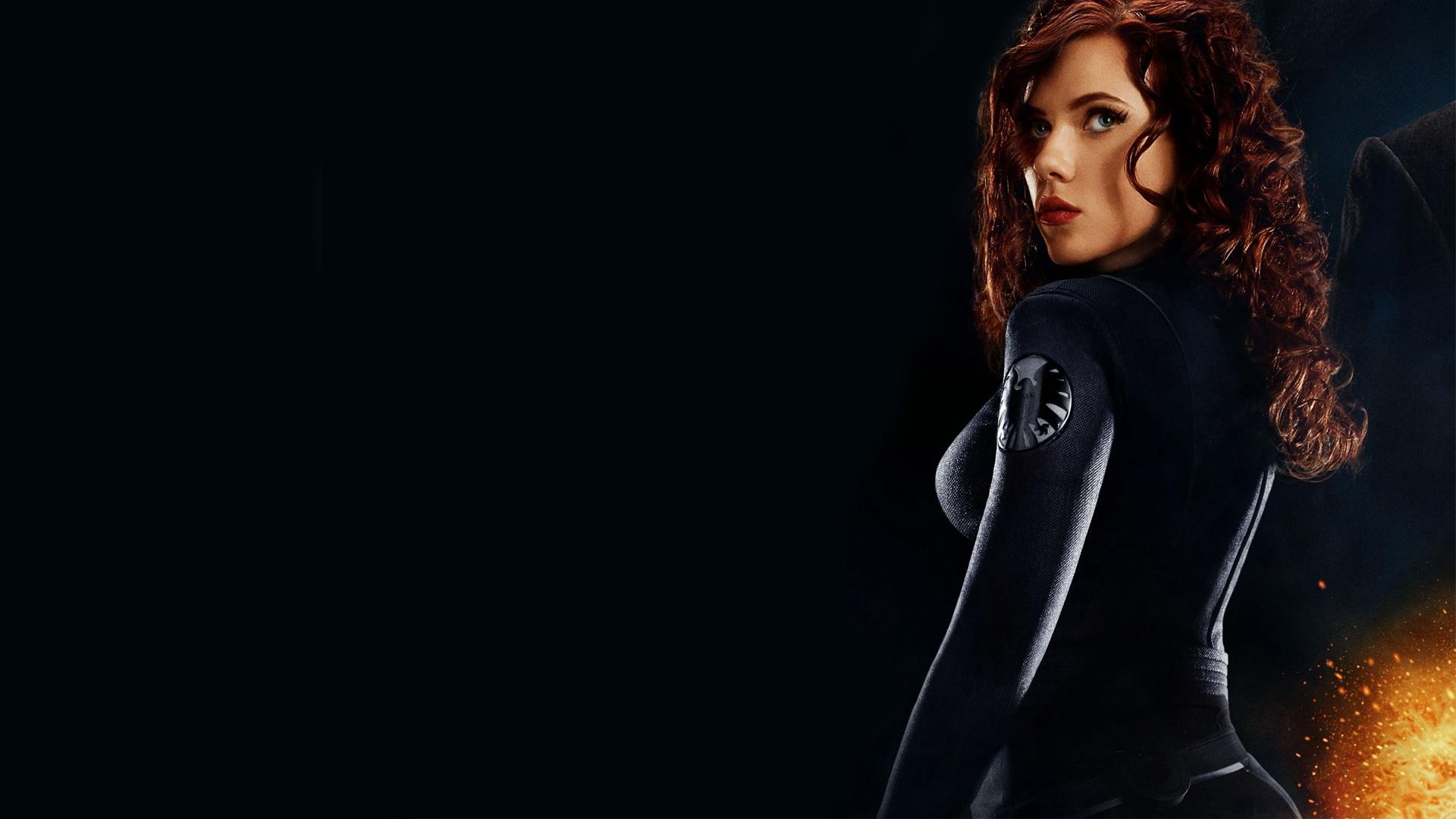 Johansson as Black Widow in Iron Man 2 Wallpapers HD Wallpapers 1920x1080
