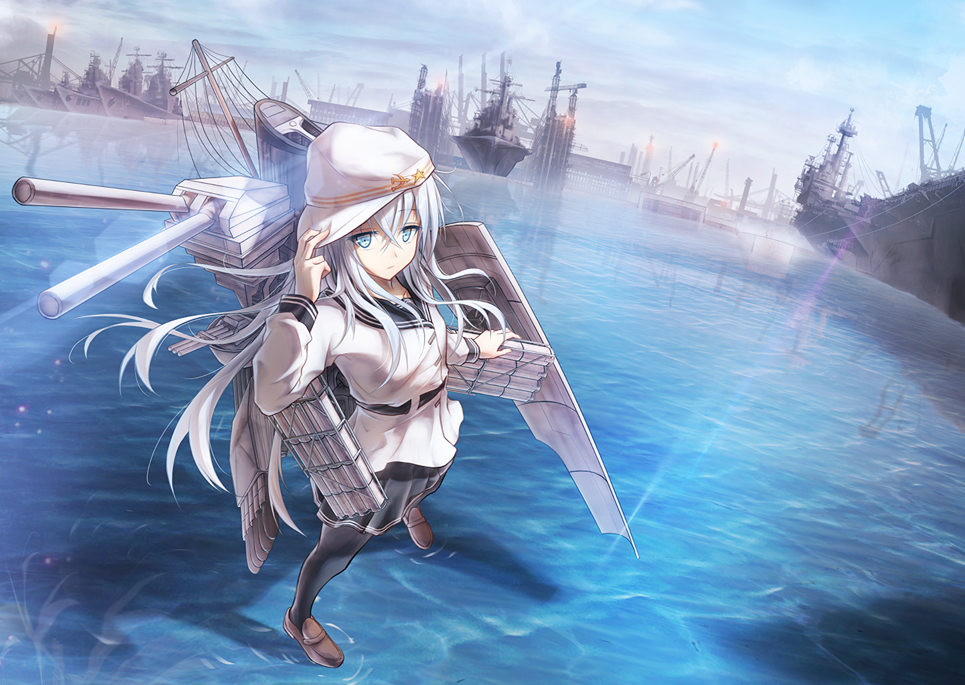 218 Hibiki Kancolle HD Wallpapers Background Images 1920x1363