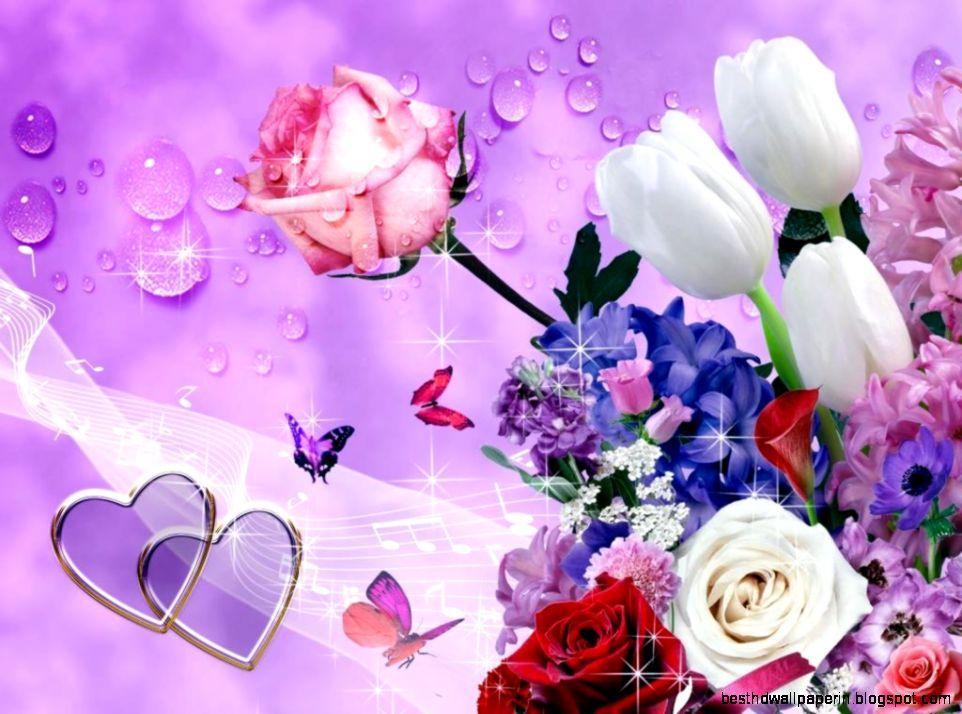 Beautiful Flower Butterfly Wallpaper Hd Best HD Wallpapers roses 962x714