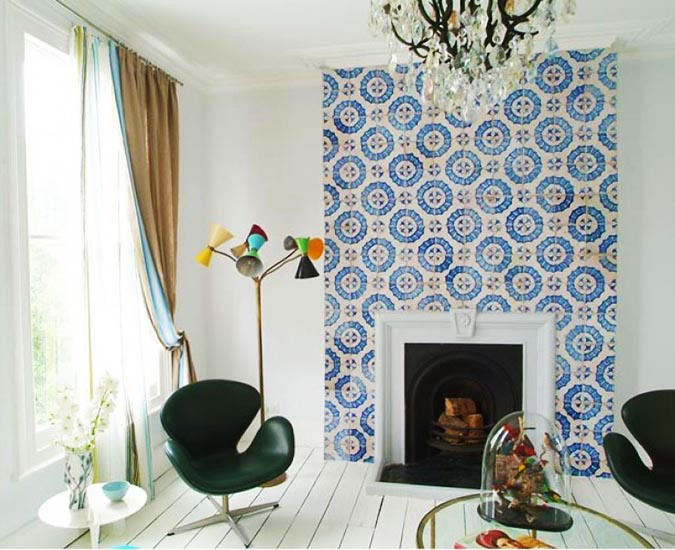 Ways to Get the Mosaic Look without Installing Tiles 675x550