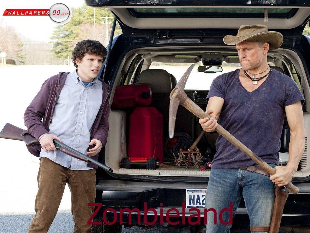 two killer guy   Zombieland Wallpaper 18765164 1024x768