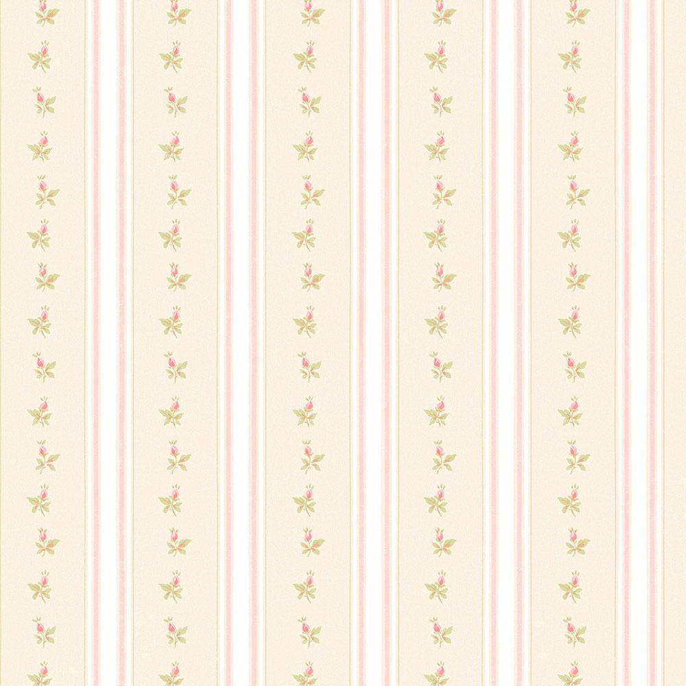 Free Download Norwall Shabby Stripe With Roses Wallpaper Ab27641 The Home Depot 1000x1000 For Your Desktop Mobile Tablet Explore 21 Shabby Wallpaper Shabby Wallpaper Shabby Chic Wallpaper Shabby Chic Kitchen Wallpaper