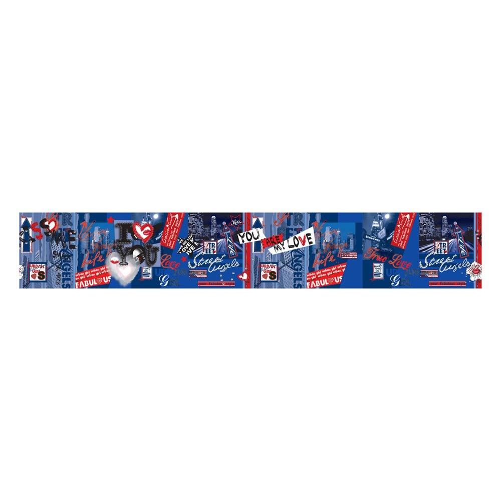 Walls Republic M8917 Hearts Wallpaper Border Lowes Canada 1000x1000