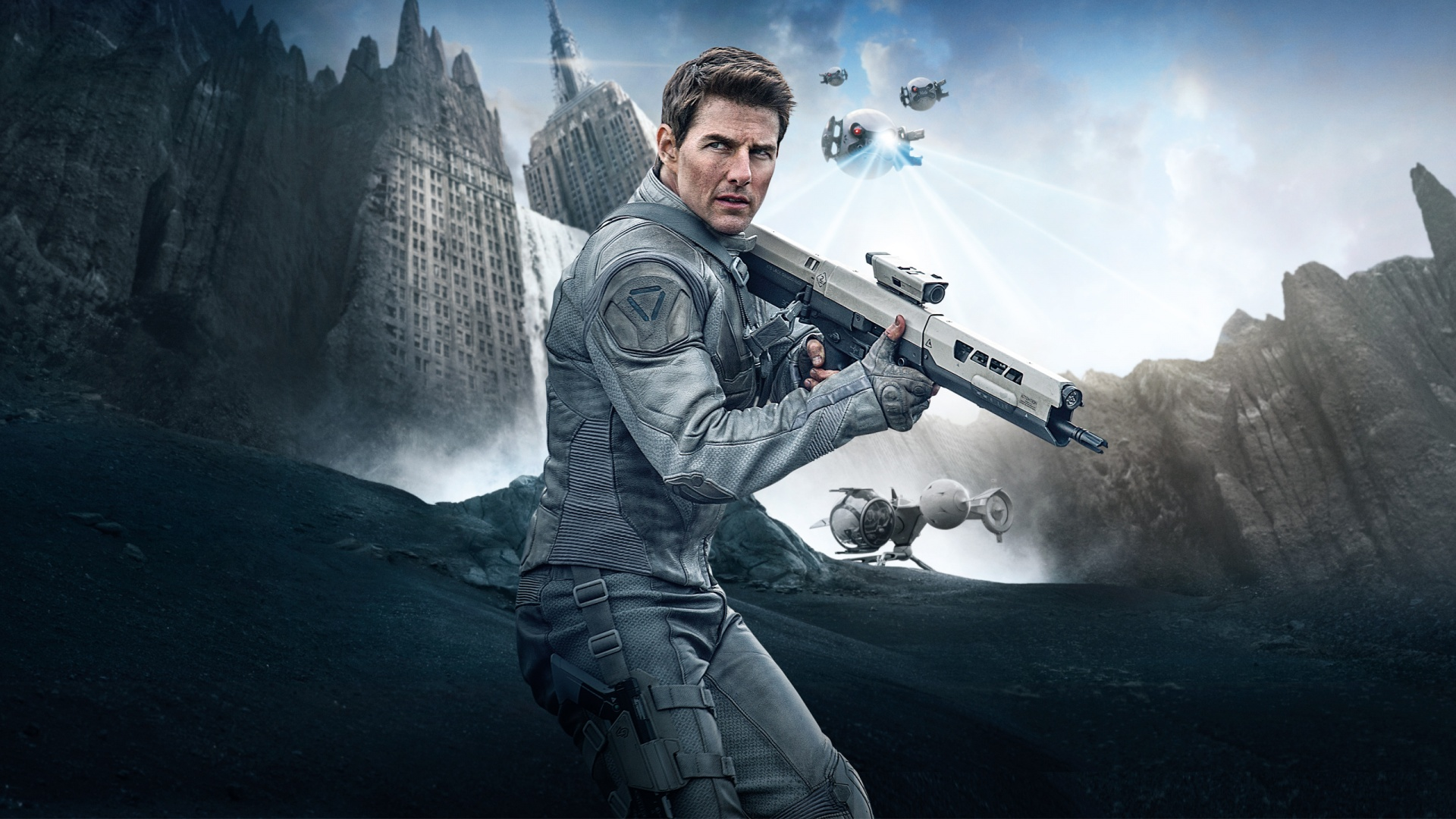 Tom Cruise in Oblivion Wallpapers in jpg format for download 1920x1080