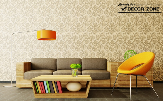 Bedroom Wall Decor Using Another Option For Decorating Your Wallpaper 550x342